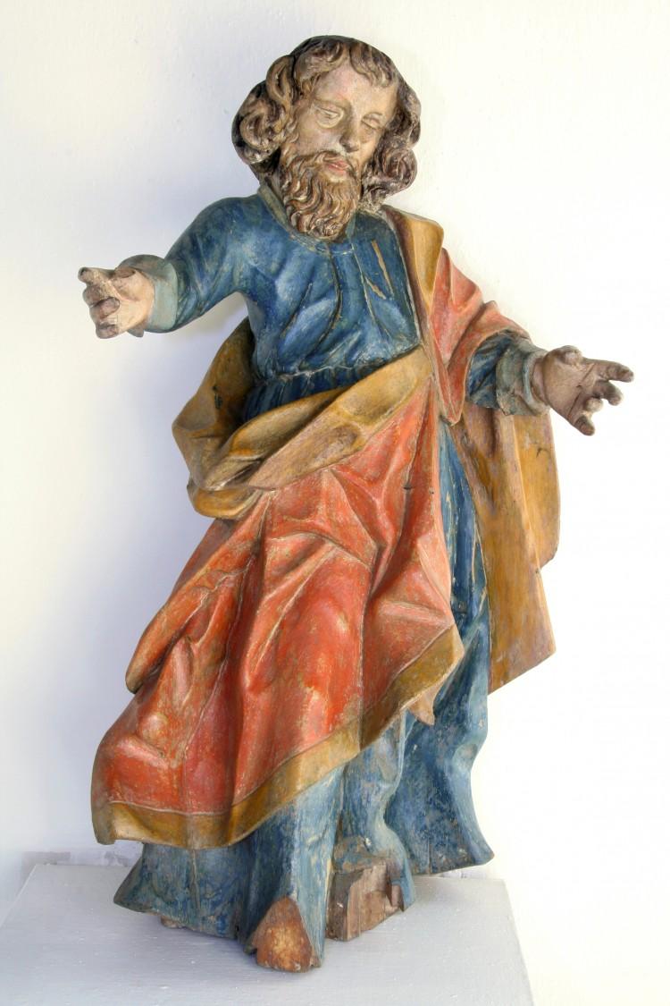 Sv. apoštol Pavel, dřevo, Vyšný, kolem roku 1700