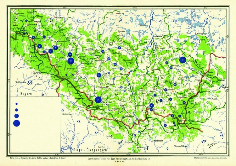 4_Projekt přehradních děl na Vltavě a Malší W. Daniela_1892
