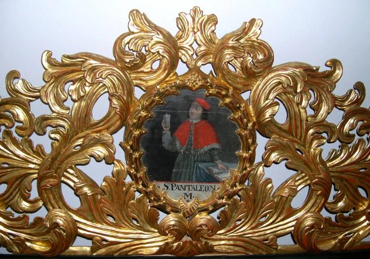 Obraz sv. Pantaleona, po roce 1600