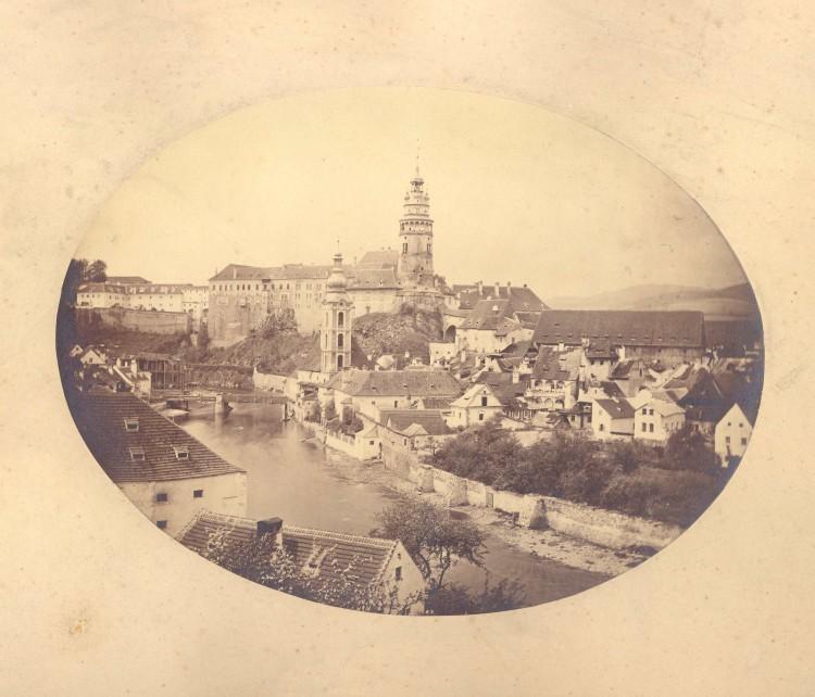 3.Franz Polak - pohled na město, 1867? (soukromá sbírka)