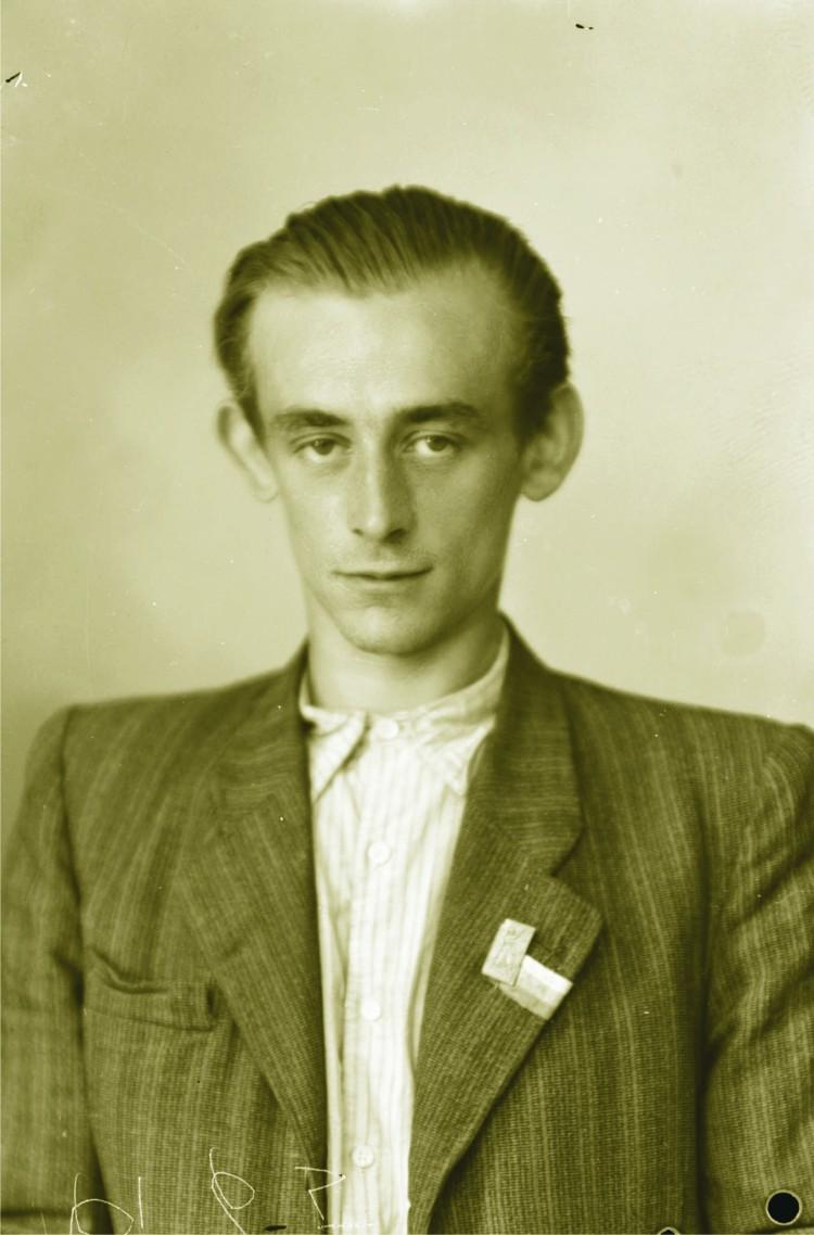 08.  Jan Král na fotografii ze září 1945.