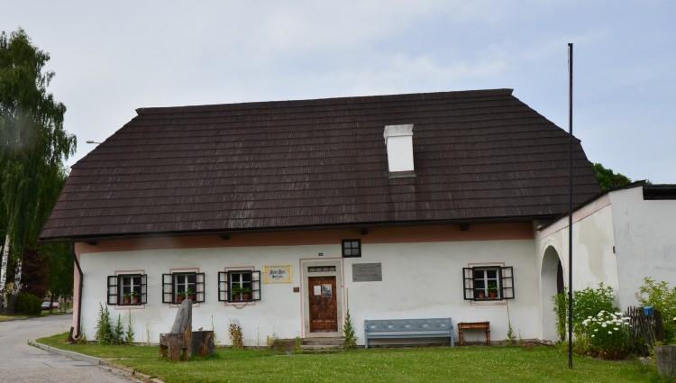 rodný domek Adalberta Stiftera v Horní Plané